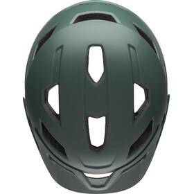 Bell Sidetrack Fietshelm Jongeren, matte dark green/orange